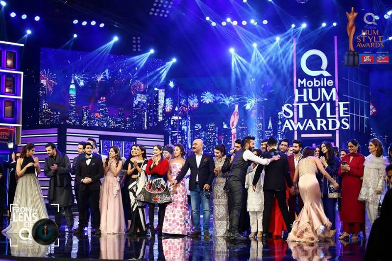 Best Dressed at QMobile Hum Style Awards 2017