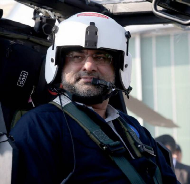 Shahid Khaqan Abbasi becomes first Pakistani PM to fly a military helicopter