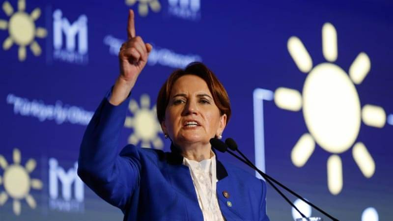 Turkey's Meral Aksener launches political party to challenge Tayyip Erdogan