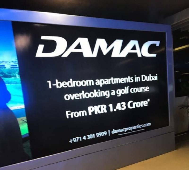 An open invitation to commit crime? UAE-based real estate giant Damac advertises in Pakistan, making a mockery of local laws