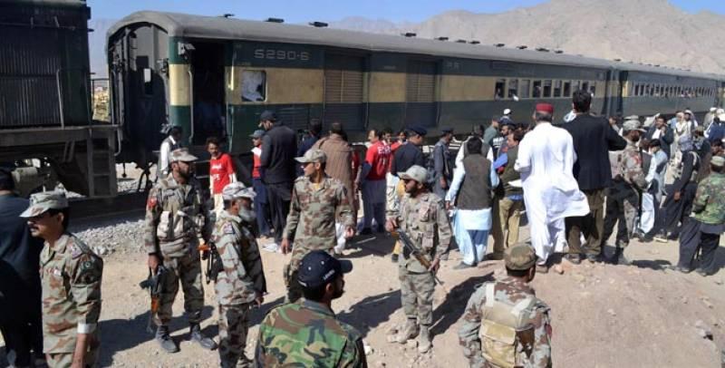 Five injured as blast rocks passenger train in Balochistan