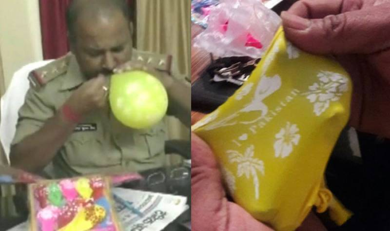 India detains two for selling balloons bearing 'I love Pakistan' slogan