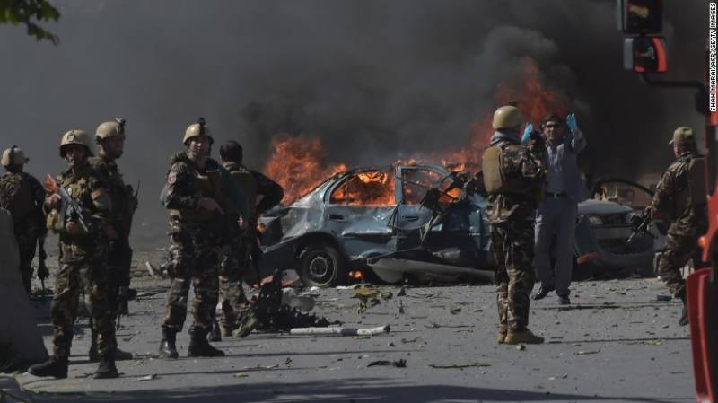 Seven dead as ISIS bomber hits Kabul's Green Zone