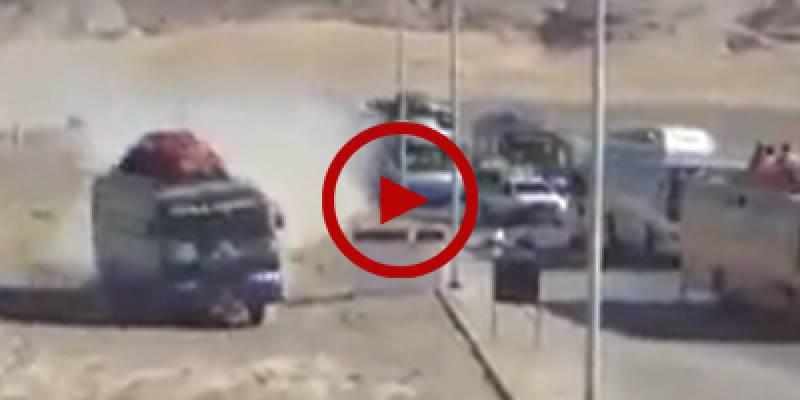 Bus driver saves passengers after break failure in Nushki