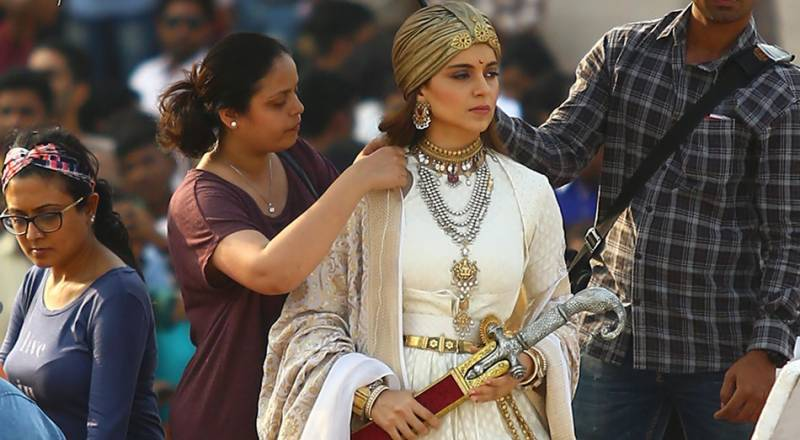 Kangana Ranaut as Rani Laxmibai in Manikarnika is a Royalty