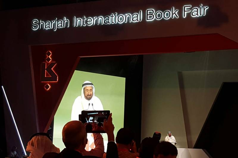 With 1.5 million books, world's third largest book fair opens in Sharjah
