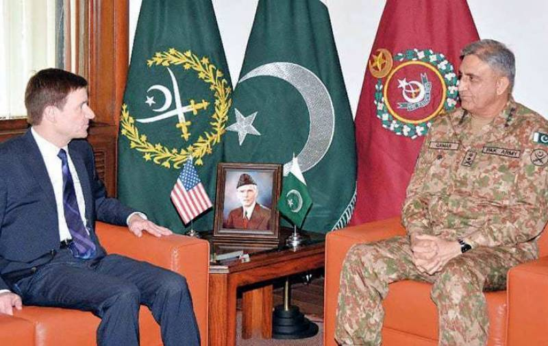 Army chief, US ambassador discuss bilateral, regional issues