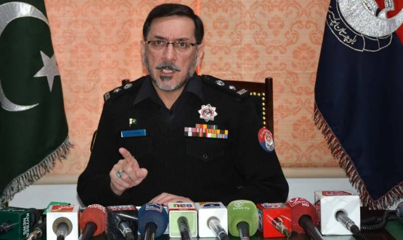 DIG Hamid among three martyred in Quetta suicide blast