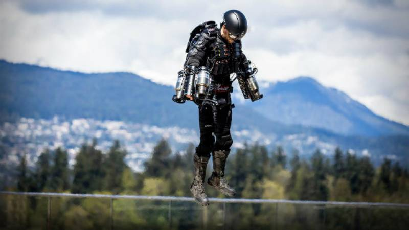 VIDEO: Real-life 'Iron Man' sets Guinness World Record