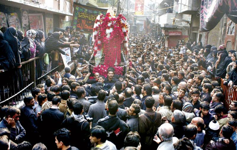 Chehlum of Hazrat Imam Hussain being observed today amid strict security