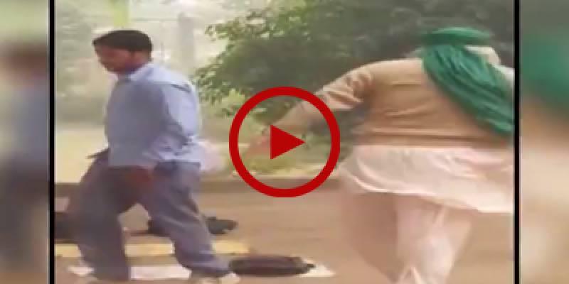 Govt school teacher thrashes student in Faisalabad