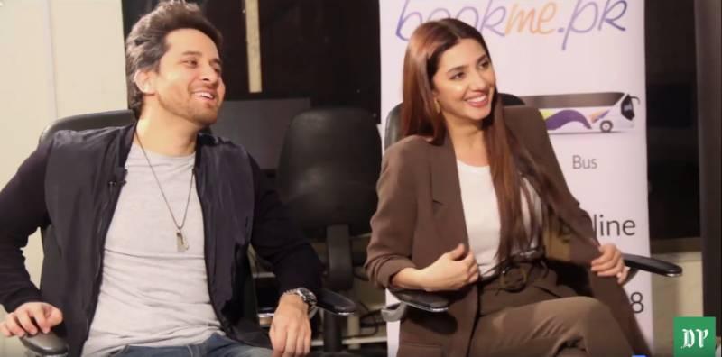 Making 'Peachy Jokes' and doing 'Rap' numbers with Mahira Khan and Haroon Shahid