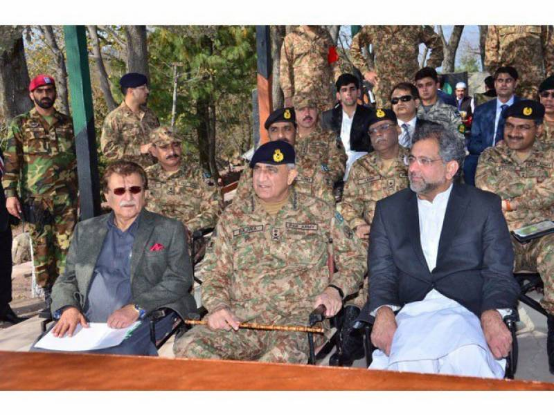 PM Abbasi approves protection bunkers for civilian population on LoC