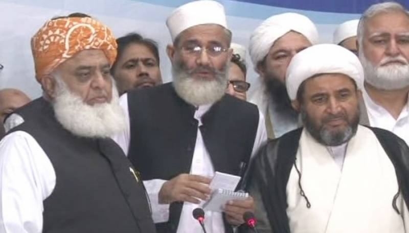 Religious parties agree to restore MMA ahead of general elections