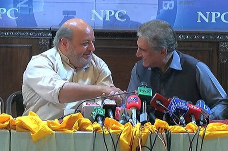 Sindh National Front merges with PTI