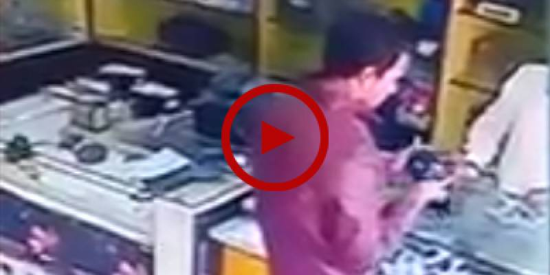 Boy runs away with DSLR camera from shop in Islamabad