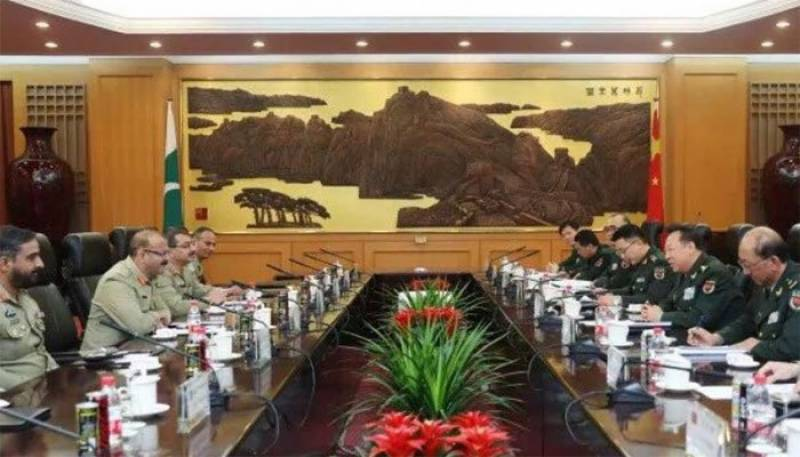 Top Chinese general assures assistance to Pakistan in various fields