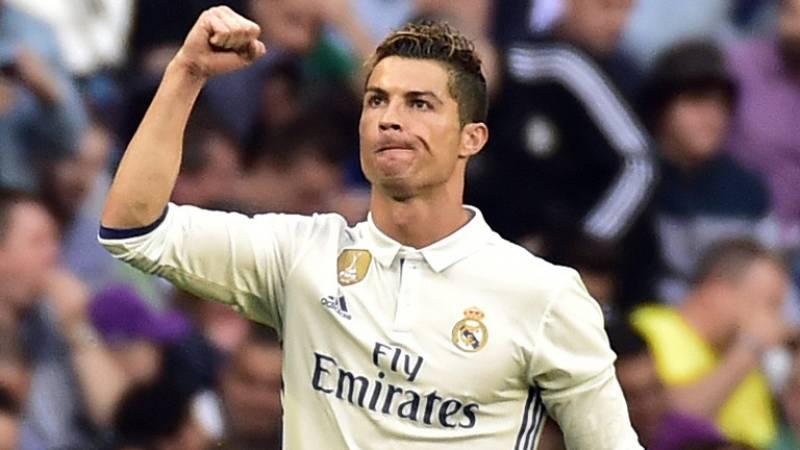 Football: Ronaldo hits brace as Real surge into last 16