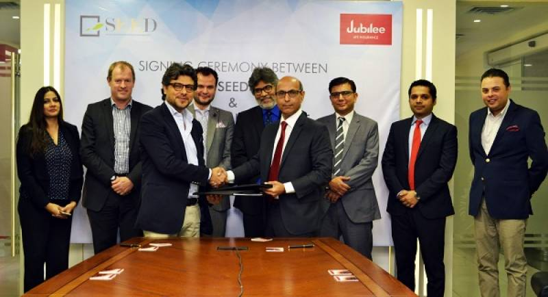 Jubilee Life joins hands with SEED Ventures to promote Enterprise Challenge Pakistan