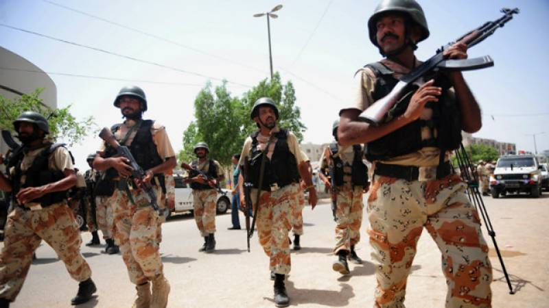 Punjab calls in Rangers as religious protesters 'invade' Lahore