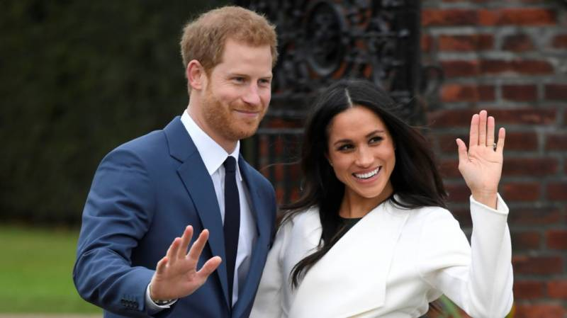 A new royal couple in town: Prince Harry and Meghan Markle are engaged