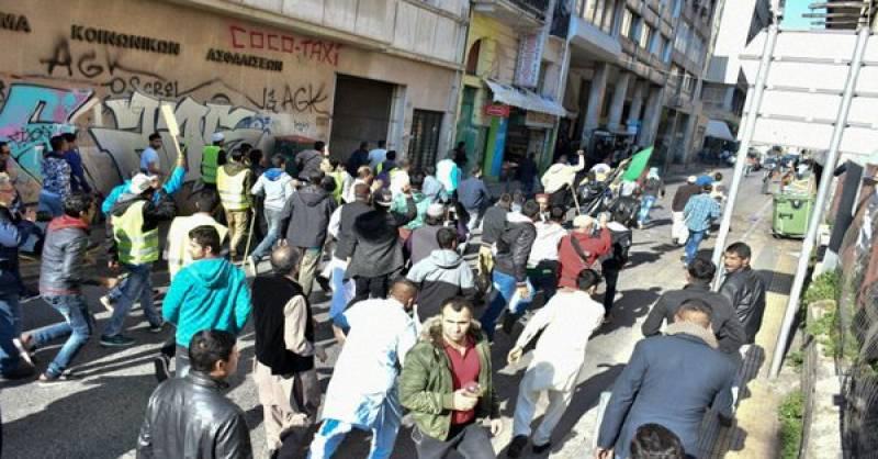 Greek football fans clash with Pakistanis celebrating Prophet Mohammed's (PBUH) birth anniversary