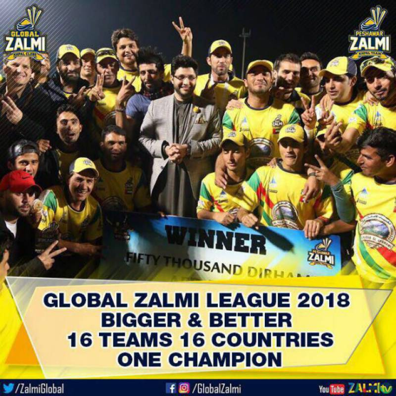 PSL Champions Peshawar Zalmi to host Global Zalmi League next year