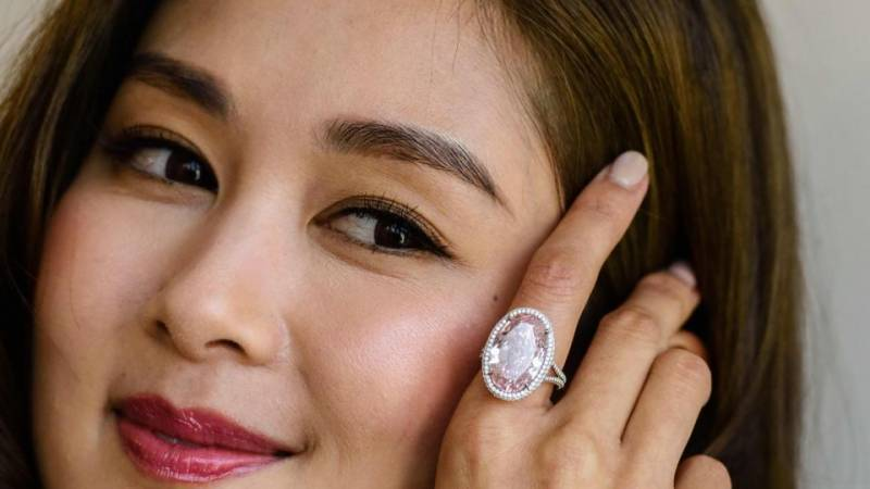 Rare 14.93-carat Pink diamond sold for over $32 million in Hong Kong