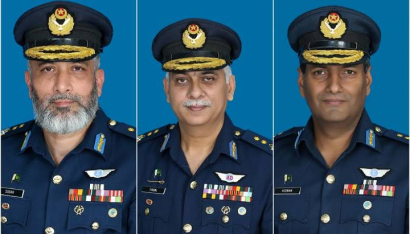 Govt promotes three air commodores as air vice marshal