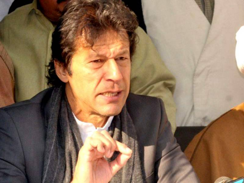 Govt should thank Pakistan Army for defusing tension in capital: Imran Khan