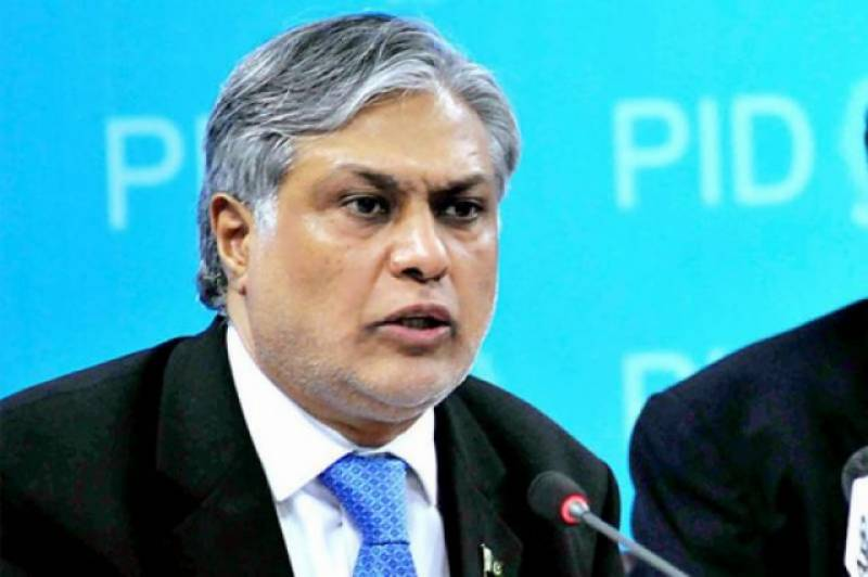 Ishaq Dar's picture removed from Finance Ministry website