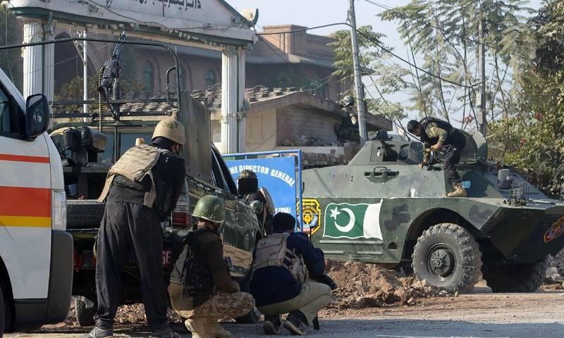 Nine dead as terrorists storm Peshawar's Agricultural Training Institute