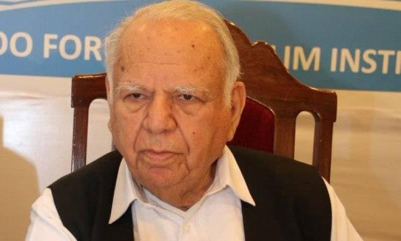 Pakistan's senior diplomat Akram Zaki dies at 87