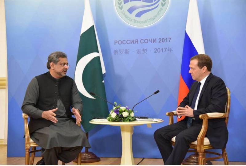 SCO Summit: Pakistan, Russia agree to forge multi-dimensional partnership