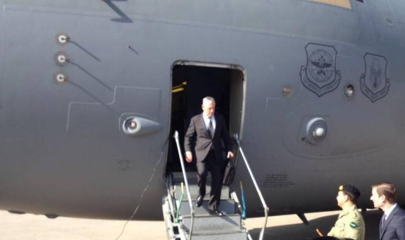 US defence chief Mattis reaches Pakistan to find 'common grounds'