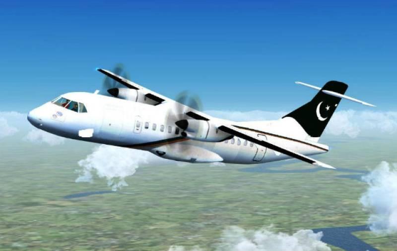 PIA passenger spots midair fuel leak (VIDEO)