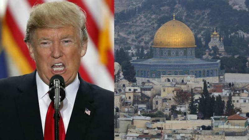 Trump officially recognises Jerusalem as Israel's capital