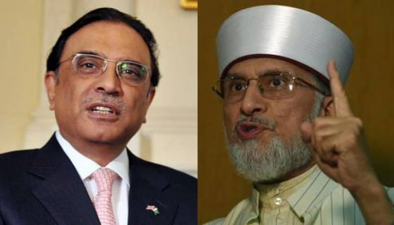 Blast from the past: Old videos of Dr Qadri and PPP trading barbs making rounds again