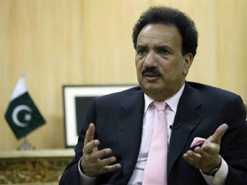 Rehman Malik challenges senior journalist Shaheen Sehbai after Daily Pakistan's story