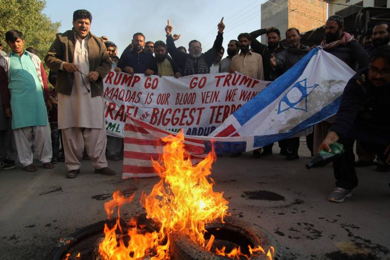 Security around US consulates beefed up ahead of protests over Trump's Jerusalem move