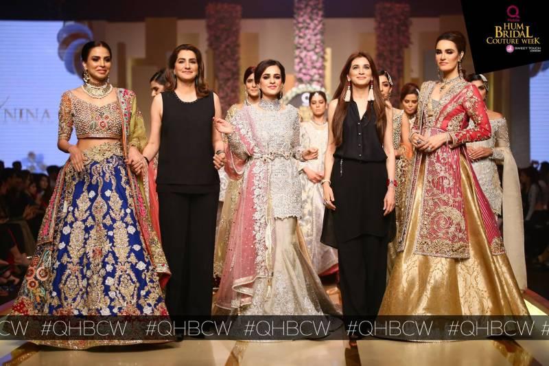 Walking the art; Bridal couture week