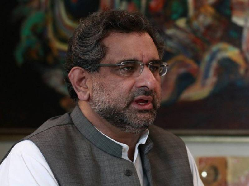 PM Abbasi lays foundation stone of 1263MW power plant in Jhang