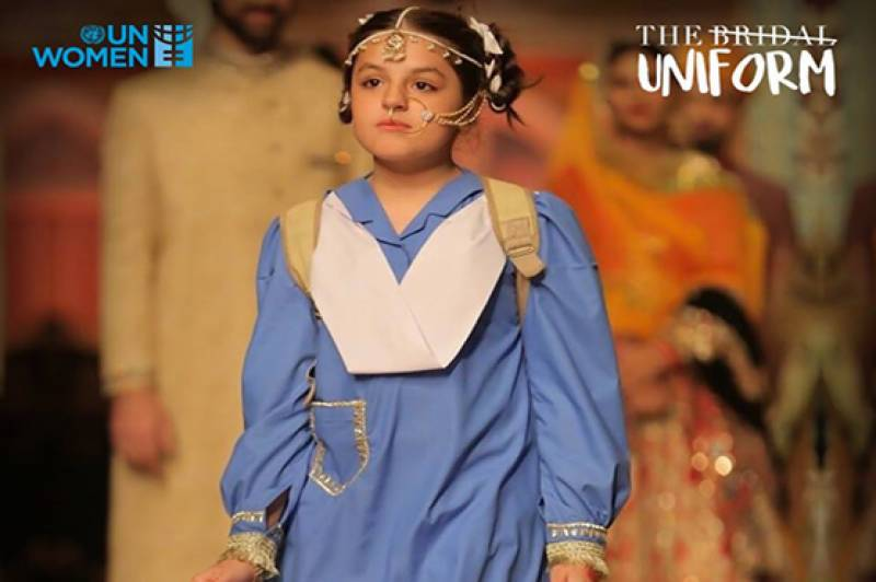 Call for ban on child marriages through 'bridal uniform': Bridal Couture Week