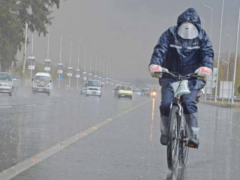 Dry spell ends: Lahore, upper parts of country receiving intermittent rains