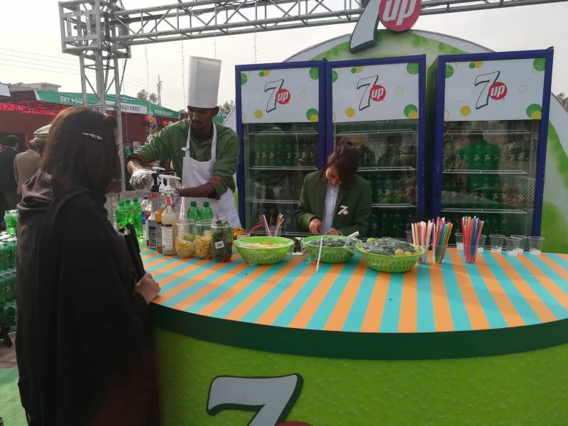 Electrifying 7up Fiesta garners citizens of Peshawar in droves