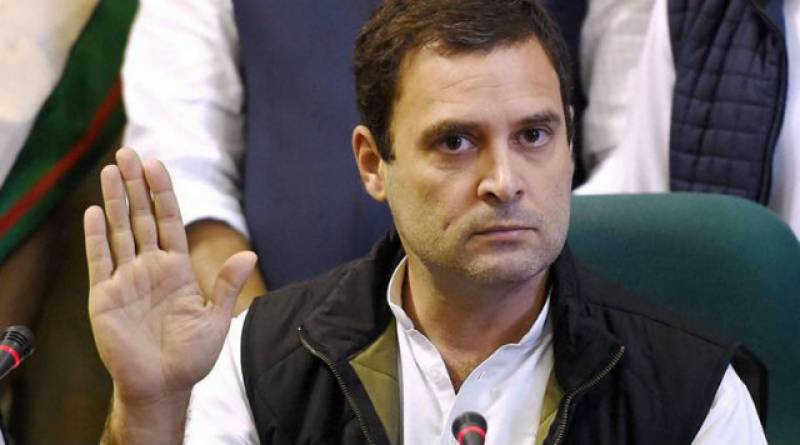 Rahul Gandhi elected leader of India's Congress party unopposed