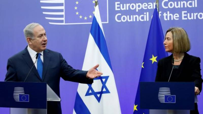 EU parts ways with US over Trump's Jerusalem move, affirms two state solution