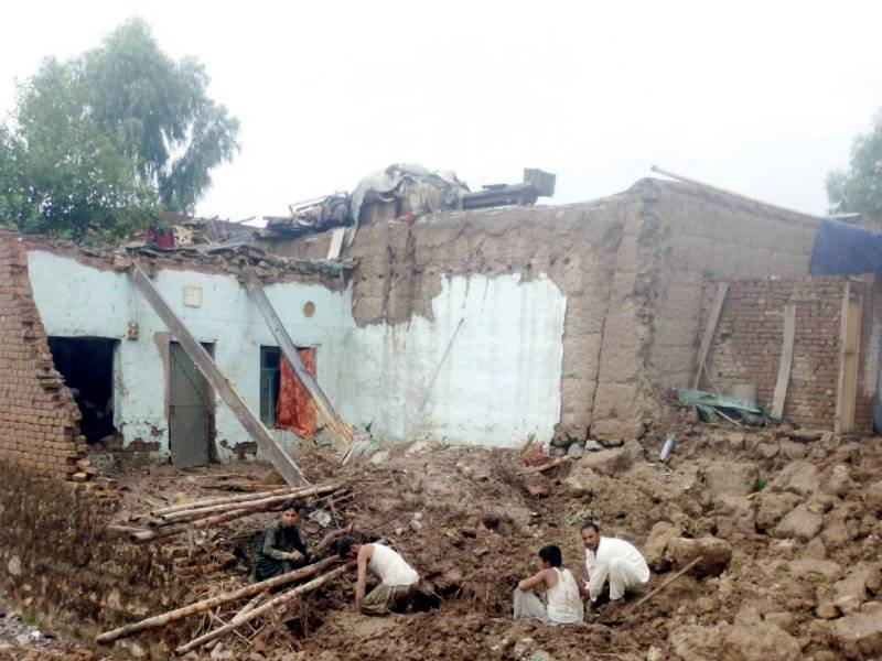 Four brothers die as house roof collapses in Nankana Sahib