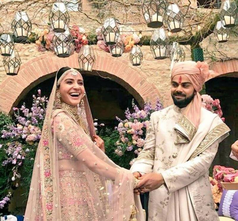 How Pakistani cricketers wished Virushka on their wedding