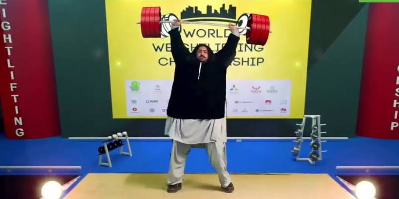 Khan Baba's world weightlifting championship video turns out to be fake